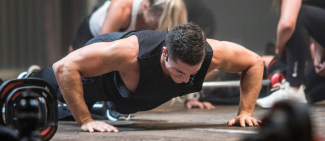 Les Mills Lab:  Push-up study