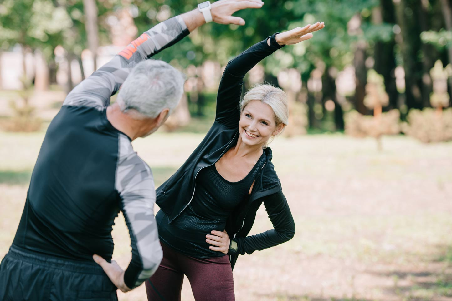STRETCHING: THE KEY TO GRACEFUL AGING!